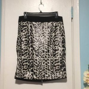 The Limited Sequin Skirt